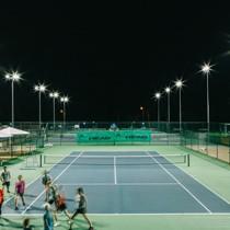 led tennis court lights